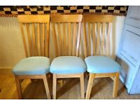 Set of Six Oak Dining Chairs