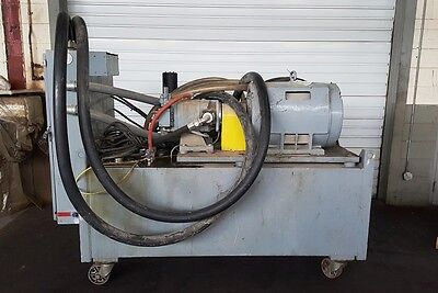 Mts 506.61 70 Gpm 3000 Psi Hydraulic Power Supply Fatigue Tester Hpu Test Lab