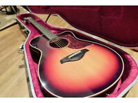 Yamaha AC3M electro-acoustic guitar with Hard Case, new condition! (Sell or swap)