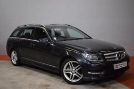 MERCEDES-BENZ C CLASS 2.1 C250 CDI BLUEEFFICIENCY AMG SPORT 5d AUTO 202 BHP (black) 2013