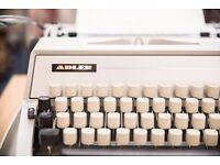 Vintage Adler Typewriter 'Gabriele 25'