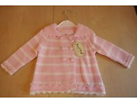 Baby Girl Powell Craft Cardigan - brand new with tags