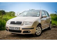 Skoda Fabia 2005 Hatchback 1.2 12V Ambient (64bhp) 5d in Beige Gold, Excellent little run-around