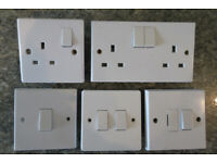 Electric sockets & switches