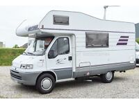 Hymer Camp 564, 1996, 4 Berth Motorhome , LHD, Beautifully Re-upholstered, 6 Seat Belts, 2.5TD Fiat