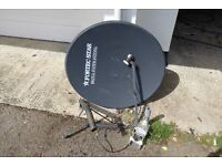 Home Satellite Kit with Rotator