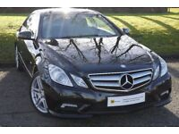 (11) MERCEDES-BENZ E CLASS 2.1 E220 CDI BLUEEFFICIENCY SPORT 2d 170 BHP HUGE SPEC***** SAT NAV***