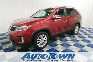 2014 Kia Sorento EX AWD/LEATHER/MEMORY SEATS/REAR CAM
