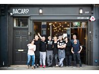 Modern Italian Bar and Kitchen Bacaro are looking for a Bar Tender
