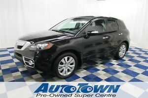 2010 Acura RDX MEMORY SEATS/ALLOY WHEELS/POWER SUNROOF/ LOW KMS
