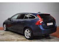 VOLVO V60 2.0 D3 SE LUX 5d AUTO 161 BHP (blue) 2012
