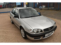 2000 TOYOTA COROLLA 1.4 VVT-I 5 DOOR LOW MILEAGE 5DR