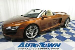 2011 Audi R8 4.2/SPYDER/AWD/NAV/ACCIDENT FREE