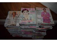 Vogue Magazines, early 1980's to 2000's, Approximately 250 copies. Will split. Buyer must collect.