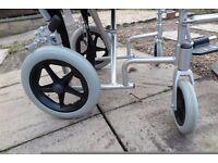 Enigma lightweight folding wheelchair for sale.