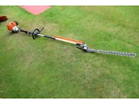 STIHL HL 95 LONG REACH HEDGE TRIMMER PETROL 2 STROKE 4 MIX