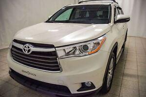 2014 Toyota Highlander XLE AWD, Navigation, Toit Ouvrant, Cuir,