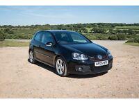 2005 VW GOLF MK5 GTI, BLACK 3 DOOR, GREAT SPEC, SAT NAV, HEATED SEATS, 12 MONTHS MOT. MUST BE SEEN!