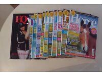 Assorted Horse Magazines