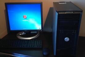 Full Dell computer system