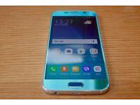 Samsung Galaxy S6 SM-G920F - 64GB - Blue Topaz (Unlocked) Smart phone