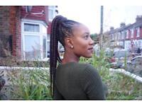 Afro/European Mobile Hairdresser (Box braids/Senegalese,KinkyTwists/CrotchetBraids/Cornrows).