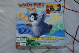 Happy Feet freezing frenzy game