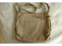 Radley Soft Beige Leather Shoulder Bag