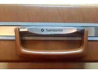 Genuine Samsonite vintage briefcase