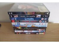 10 DVD,S Icluding Friends With BenefitsAnd Gothika