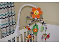 Playgro Wind-up Musical Rotating Baby Mobile for Cot Bed