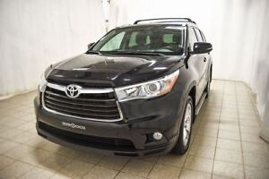 2016 Toyota Highlander Limited AWD,Cuir, Toit ouvrant panoramiqu