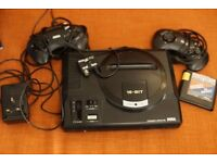 Sega Mega Drive 16bit (With 2 controllers)