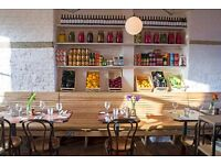 Exciting Senior Sous & Head Chef roles at The Good Egg, N16