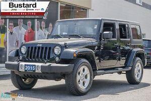 2015 Jeep WRANGLER UNLIMITED Sahara   HEATED SEATS     UNLIMITED