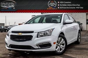 2015 Chevrolet Cruze LT|Backup Cam|Bluetooth|R-Start|Keyless Ent