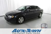 2002 Audi A4 3.0L (M6) *Block Heater, Cruise Control, Heated Se