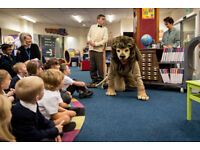 Library Lion (May Half term)