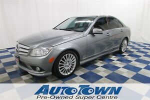2010 Mercedes-Benz C-Class C250/4MATIC/LOCAL/LEATHER INTERIOR/ME