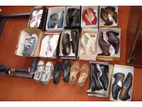 Ladies shoes and trainers.