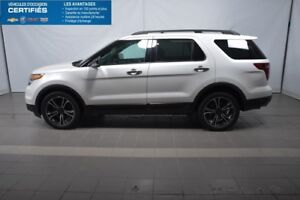 2014 Ford EXPLORER 4WD SPORT ECOBOOST, 4X4, BLUETOOTH