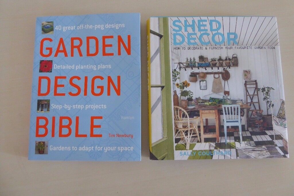 Garden and Shed Books (2)
