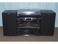 SONY HI-FI Separates + Speakers with Philips CD Player