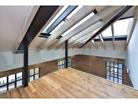 CITY GARDEN ROW N1: STUNNING TWO BEDROOM WAREHOUSE IN HEART OF ISLINGTON, TUBE IS FIVE MINS AWAY