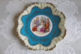 Vintage Victorian Plate.