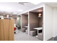 Serviced office for two people; everything included! Bristol Almondsbury Business Park, BS32. £547pm