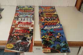 17 VINTAGE DC COMICS
