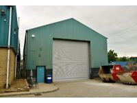 Workshop / warehouse with secure yard - to let