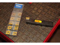 Sandvik coromant 16 mm r/h indexable lathe tool.