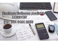 Estimator \ Commercial Manager Freelance AVAILABLE for short or long term cooperations, London area